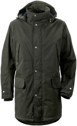 Didriksons 1913 Didriksons Travel Coat Dark Green