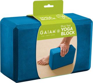 Gaiam Yogablok Teal Blå