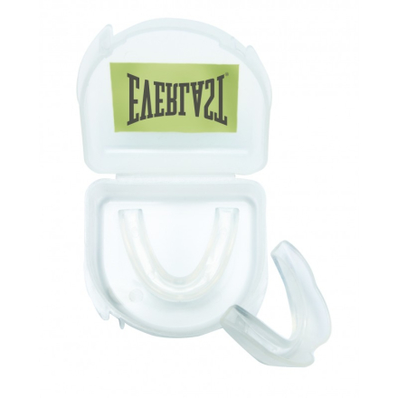 Everlast Single Mouth Guard Clear Tandbeskytter