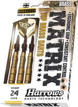 Harrows Matrix Brass Steeltip Dartpile 24g