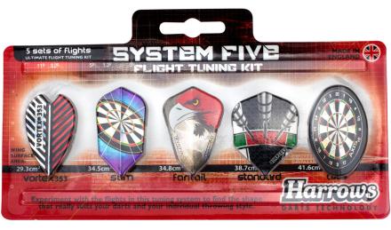 Harrows Flight System Five Flight Tuning Kit