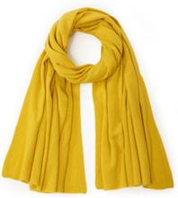 Schal aus 100% Kaschmir include gelb