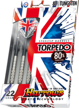 Harrows Torpedo 80% Tungsten Steeltip Dartpile 21g