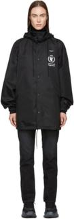Balenciaga Black World Food Programme Windbreaker Jacket