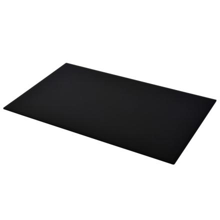 vidaXL bordplade hærdet glas rektangulær 1200 x 650 mm