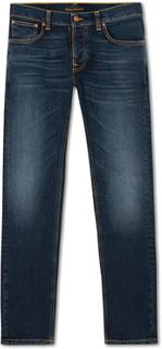 Jeans von Nudie Jeans. Grösse: W31L34. Farbe: Blå. Nudie Jeans Grim Tim Organic Jeans Ink Navy