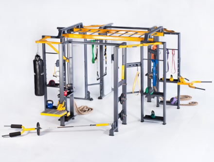 Master BioMotion Crosscage Crossfit Rig 41B