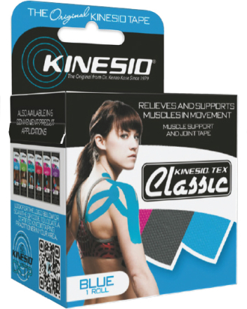 Kinesio Tex Classic Blå (5cm x 4m)