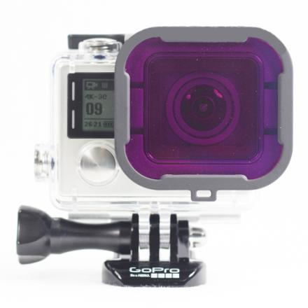 Polar Pro GoPro Magenta Filter For Dive Housing (60m)
