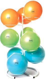 Reebok Studio Gymball Opbevaringsstativ (9 bolde)