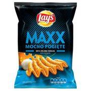 Lays - Maxx Chipsy ziemniaczane o smaku sera i cebulki 21...
