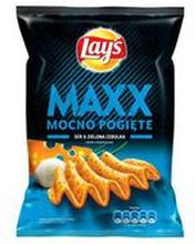 Lay's - Maxx Chipsy ziemniaczane o smaku sera i cebulki 21...