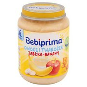 Bebiprima - Deser Jabłka-Banany. Przecier owocowy po 6 miesiąc...