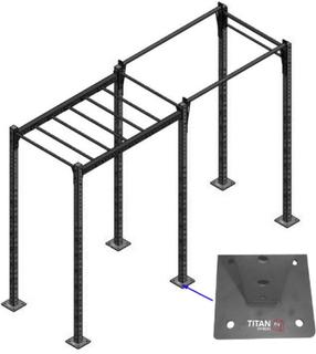 Titan Fitness Titan BOX Crossfit Rig (2 sektioner)