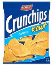 Crunchips - Chipsy X-cut solone