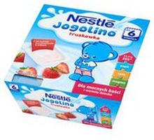 Nestle - Jogolino deserek mleczno-owocowy truskawka po 6 mi...
