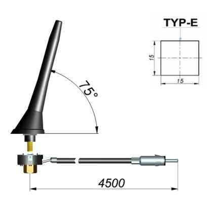 Antena ogólna 632-029-005