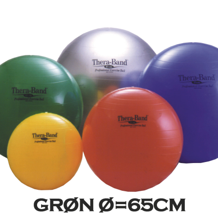 Thera-Band Terapibold & Træningsbold 65cm Grøn
