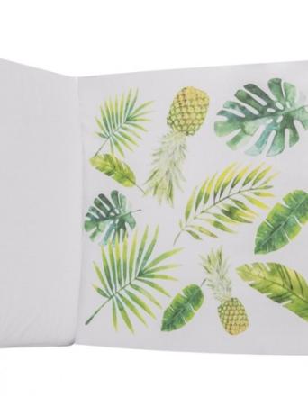 Ochraniacz na całe łóżeczko - ananasowy raj