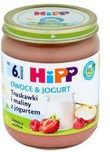 HiPP - Deser truskawki, maliny i jogurt