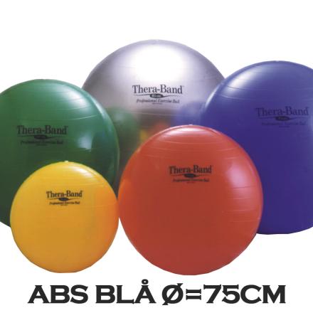 Thera-Band Terapibold & Træningsbold 75cm Blå (Inkl. ABS)