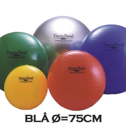 Thera-Band Terapibold & Træningsbold 75cm Blå