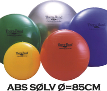 Thera-Band Terapibold & Træningsbold 85cm Sølv (Inkl. ABS)