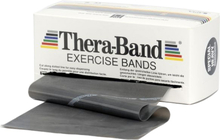 Thera-Band Træningselastik Bånd Level 5 Speciel Hård Sort 45,5m