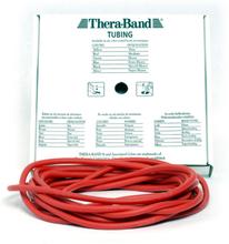 Thera-Band Tubing Level 2 Medium Træningselastik Rød 30,5m