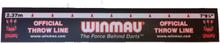 Winmau Oche Kastelinje Sticker