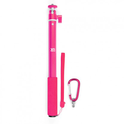 XSories Big U-Shot Monochrome Pink Kamerastang - Apuls