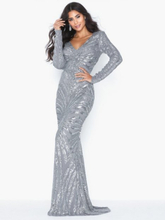 NLY Eve All Over Sequin Gown