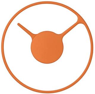 Stelton Time väggklocka orange, 22cm Stelton