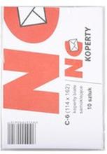 NC Koperty - Koperty białe C6 10 szt., 114x162