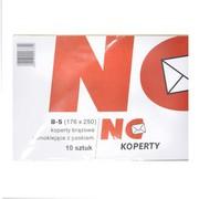 NC Koperty - Koperty brązowe samoklejące z paskiem, rozmiar B-5