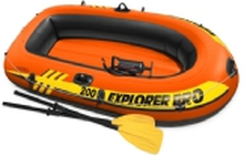 Intex 58357NP, Oppustelig båd, Sort, Orange, Gul, 304,8 mm, 152,4 mm, 476,3 mm, 5,03 kg