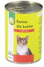 Podniesiony Kciuk - Karma mokra dla kotów dorosłych z wołowiną