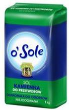 o'Sole - Sól kamienna do przetworów, niejodowana