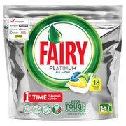 Fairy - Platinum All in one Kapsułki do zmywarek 18 szt
