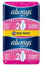 Always - Podpaski ultra super plus duo pack