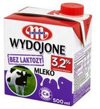 Mlekovita - Wydojone mleko bez laktozy UHT 3.2%