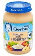 Gerber - Deserek Owocowy krem z jogurtem