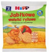 HiPP - Wafelki ryżowe jabłkowe