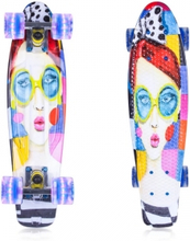 Pennyboard Face 22'', silver, ArtFish