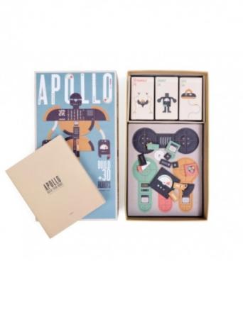 Gra układanka Apollo - roboty