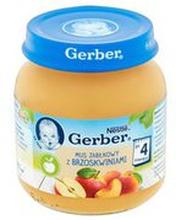 Gerber - Deser mus jabłkowy z brzoskwiniami po 4 miesiącu
