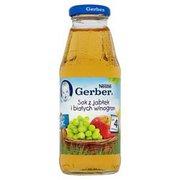 Gerber - Sok klarowny 100% jabłko i białe winogrona
