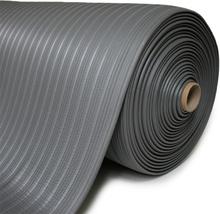 Ergo Classic grå arbetsplatsmatta 910x18300 mm