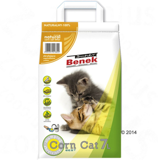 Super Benek Corn Cat Natural - 7 l