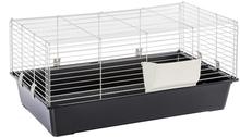 Ferplast Piggy Basic -pieneläinhäkki - musta: P 95 x L 57 x K 46 cm